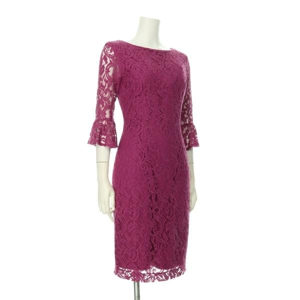 ローマン ドレス レディース新品同様  ピンク系 カクテルドレス 3