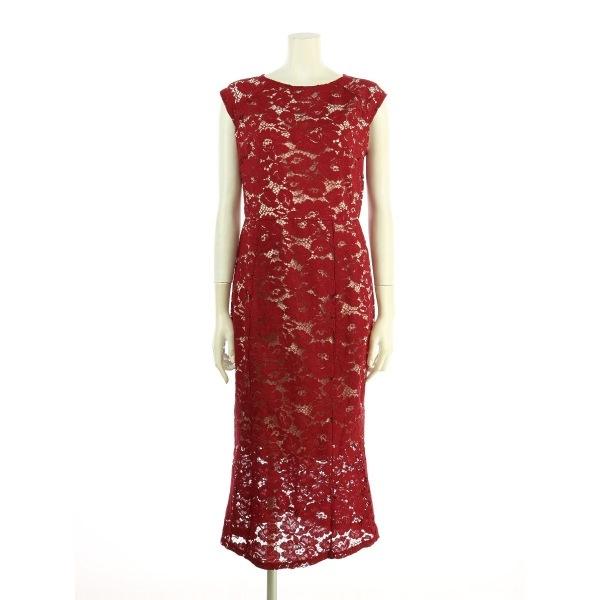 LIPSY(リプシー) ドレス レディース新品同様  レッド系 カクテルドレス