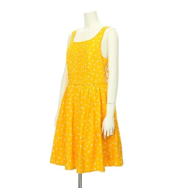 アンソロポロジー ドレス レディース新品同様  オレンジ系 カクテルドレス