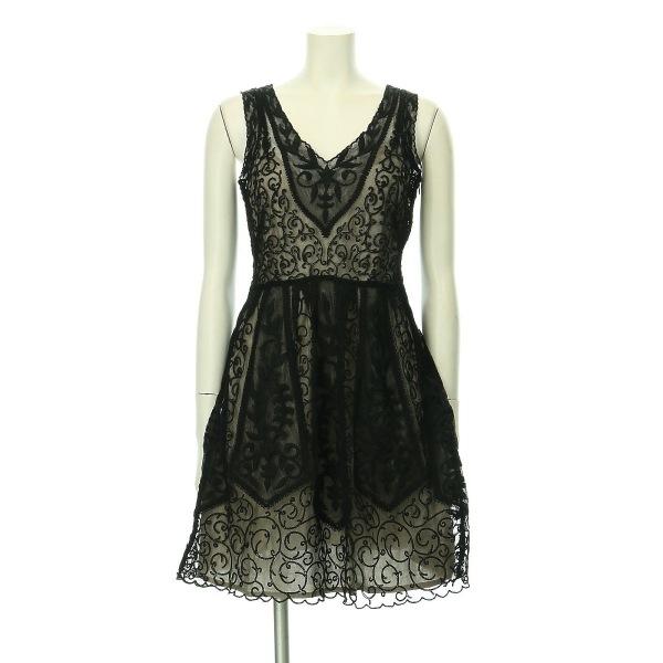 アンソロポロジー ドレス レディース新品同様  ブラック系 カクテルドレス