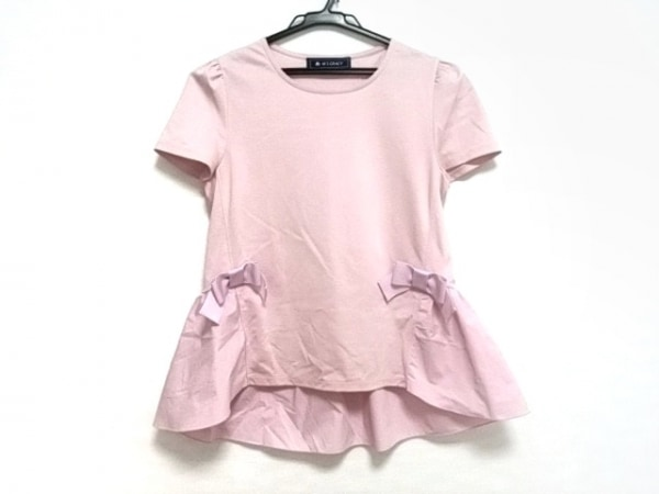 M'S GRACY(エムズグレイシー) チュニック レディース美品  ピンク リボン