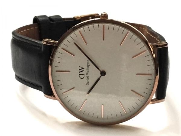 Daniel Wellington(ダニエルウェリントン) 腕時計 B13 レディース 白