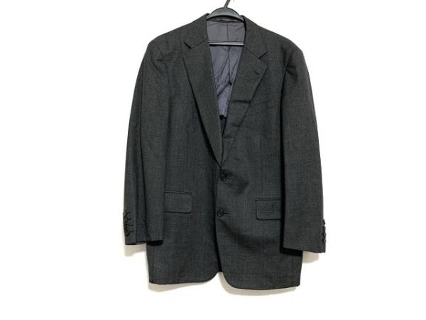 J.PRESS(ジェイプレス) ジャケット サイズC94W80T175 メンズ美品  ダークグレー×黒