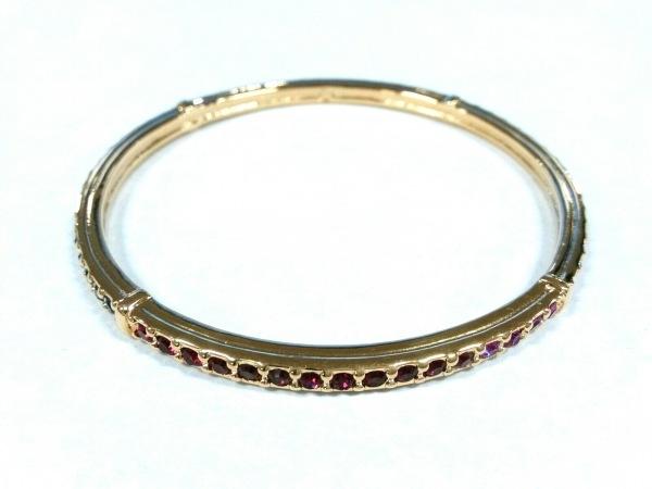 SWAROVSKI(スワロフスキー) バングル美品  金属素材×スワロフスキークリスタル