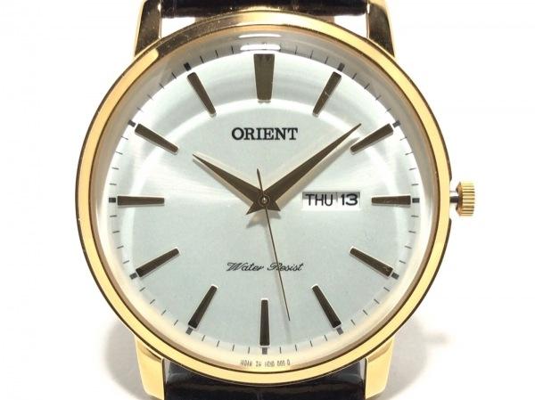 ORIENT(オリエント) 腕時計 UG1R-AO-B メンズ 白