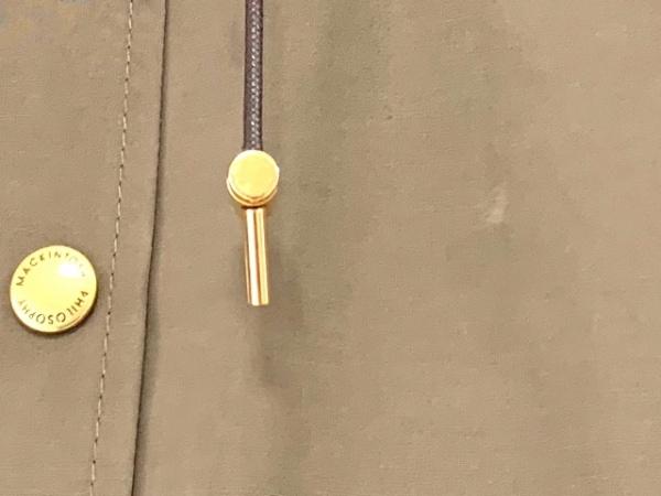 マッキントッシュフィロソフィー コート サイズ36 M レディース カーキ