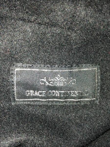GRACE CONTINENTAL(グレースコンチネンタル) ポンチョ サイズ36 S レディース 黒 冬物