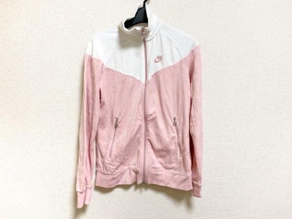 NIKE(ナイキ) ジャージ レディース美品  ピンク×白 ベロア