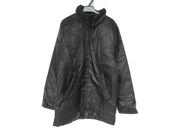 agnes b(アニエスベー) ダウンコート サイズ46 L メンズ新品同様  黒 HOMME/冬物