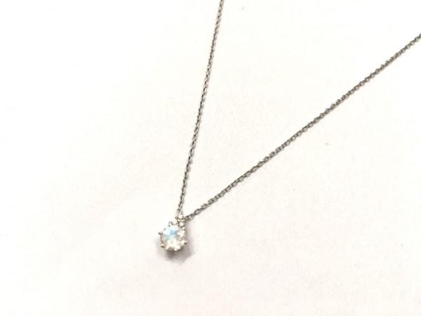 スタージュエリー ネックレス美品  K10×ジルコニア×ダイヤモンド クリア