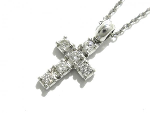 STAR JEWELRY(スタージュエリー) ネックレス美品  Pt900×ダイヤモンド