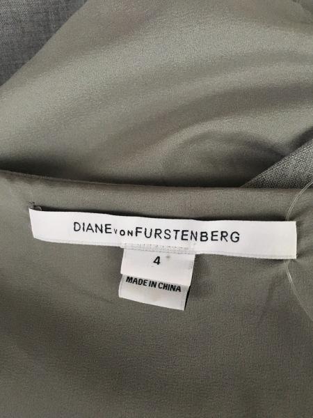 ダイアン・フォン・ファステンバーグ ワンピース サイズ4 S レディース美品  グレー