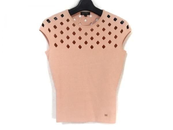 ESCADA(エスカーダ) ノースリーブセーター サイズXS レディース新品同様  ピンク