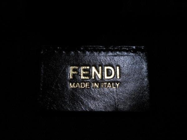 FENDI(フェンディ) ハンドバッグ プチトゥージュール 8BH253 黒 レザー