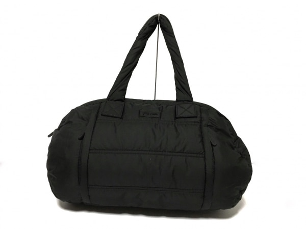 FolliFollie(フォリフォリ) ハンドバッグ新品同様  黒 ナイロン