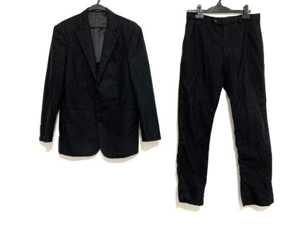 COMME CA ISM(コムサイズム) シングルスーツ サイズS メンズ 黒