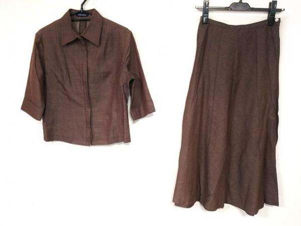 NEW YORKER(ニューヨーカー) スカートスーツ サイズ9AR S レディース ダークブラウン