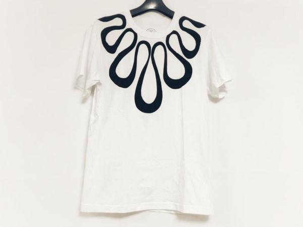 10・corso・como(ディエチコルソコモ) 半袖Tシャツ サイズM レディース美品  白×黒