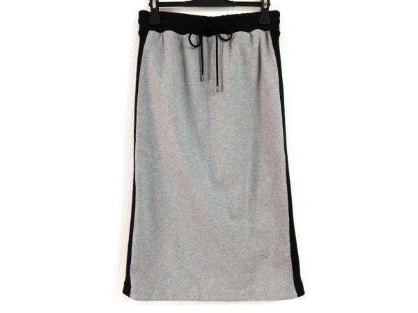 DAMAcollection(ダーマコレクション) スカート サイズL レディース グレー×黒