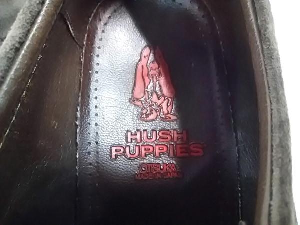 HUSH PUPPIES(ハッシュパピーズ) シューズ 26 1/2 メンズ グレー スエード