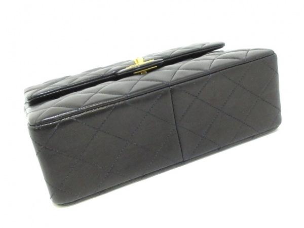 CHANEL(シャネル) ショルダーバッグ ミニマトラッセ A01163 黒 ラムスキン
