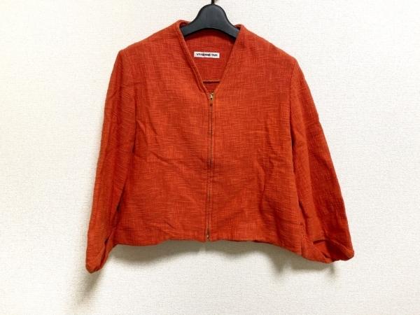 ヴィヴィアンタム ジャケット サイズ0 XS レディース美品  オレンジ ジップアップ