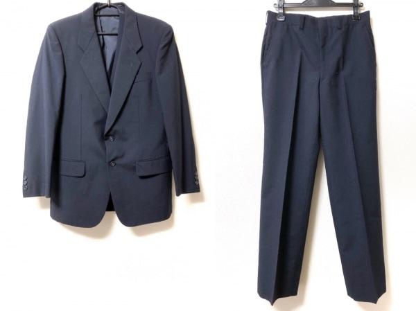 DURBAN(ダーバン) シングルスーツ メンズ美品  ネイビー スリーピース