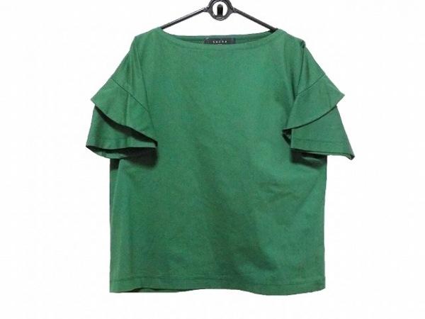SACRA(サクラ) 半袖カットソー サイズ38 M レディース グリーン