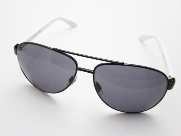 グッチ サングラス シェリー GG2898/N/S 黒×白×マルチ プラスチック×金属素材