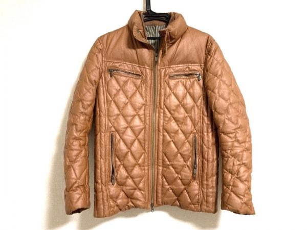 monsieur NICOLE(ムッシュニコル) コート サイズ48 XL メンズ ブラウン 冬物