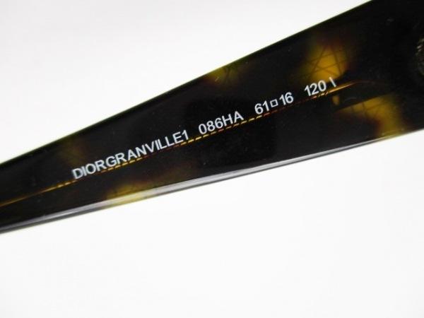 クリスチャンディオール サングラス DIORGRANVILLE1 086HA ダークブラウン