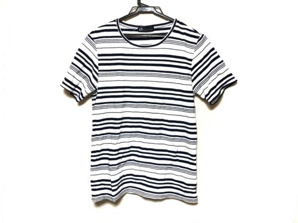トルネードマート 半袖カットソー サイズM レディース美品  アイボリー×ネイビー