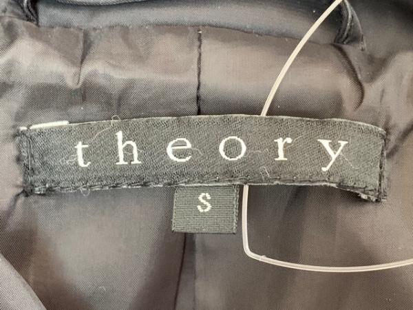 theory(セオリー) コート サイズS レディース 黒 中綿/冬物