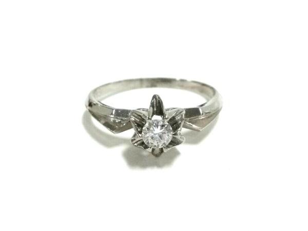 ノーブランド リング美品  Pt850×ダイヤモンド 総重量:3.6g/016刻印