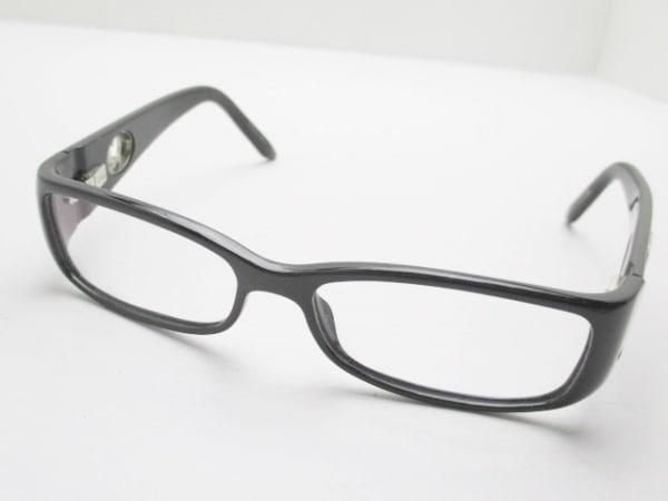 クリスチャンディオール メガネ CD3137 クリア×黒 プラスチック×金属素材