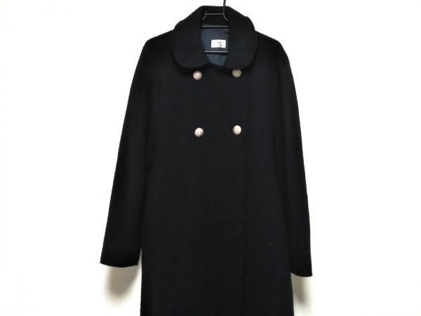 フィロソフィーディアルベルタフェレッティ コート サイズI 42 レディース美品  黒