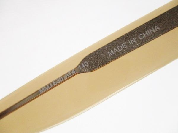 マークバイマークジェイコブス メガネ MMJ630 クリア×ブラウン プラスチック