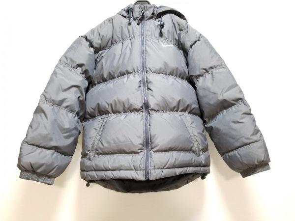 NIKE(ナイキ) ダウンジャケット サイズM メンズ グレー 冬物