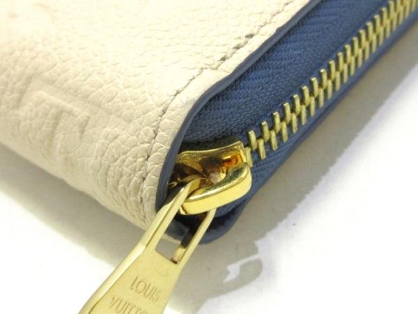 ルイヴィトン 長財布 モノグラム・アンプラント美品  ジッピー・ウォレット M63925