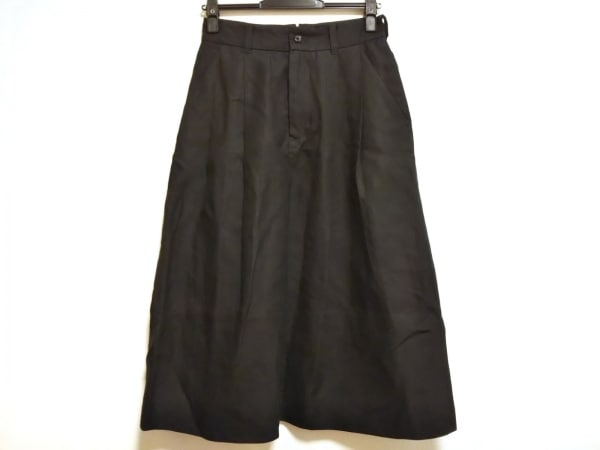 MargaretHowell(マーガレットハウエル) ロングスカート サイズ2 M レディース美品  黒