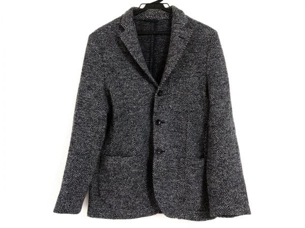 Altea(アルテア) ジャケット サイズ46 XL メンズ ネイビー×白