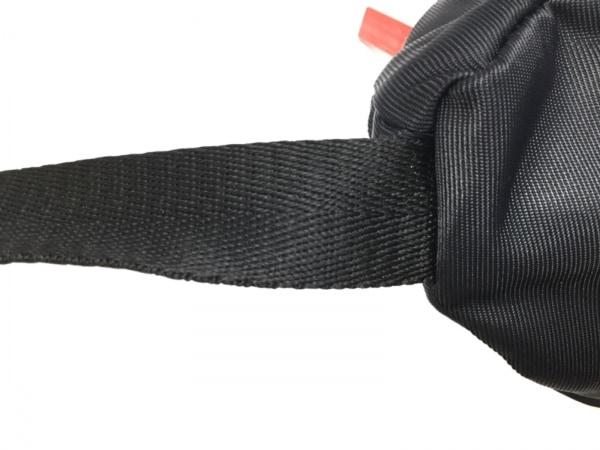 HUNTER(ハンター) ウエストポーチ 黒×白×レッド ナイロン