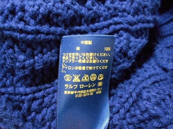ポロラルフローレン 長袖セーター サイズXL レディース ダークネイビー
