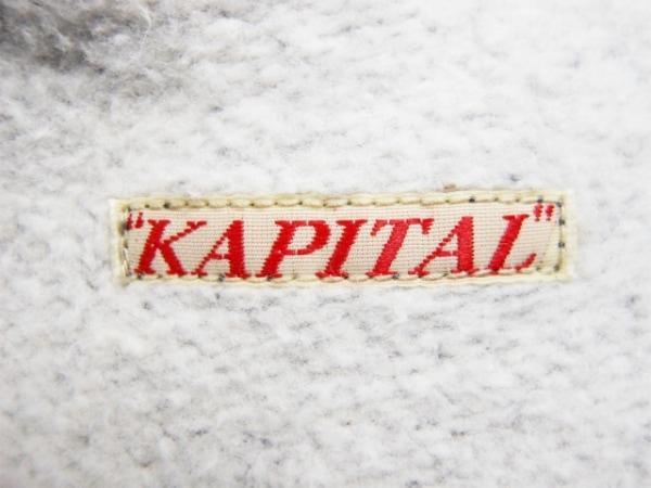 KAPITAL(キャピタル) ワンピース サイズ0 XS レディース ダークグレー ロング丈