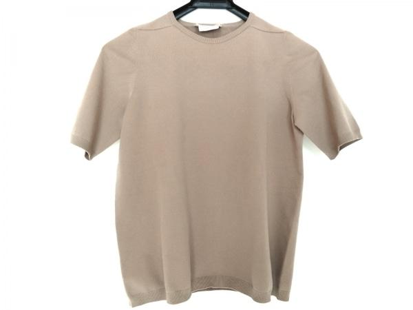 S Max Mara(マックスマーラ) 半袖セーター サイズM レディース ベージュ