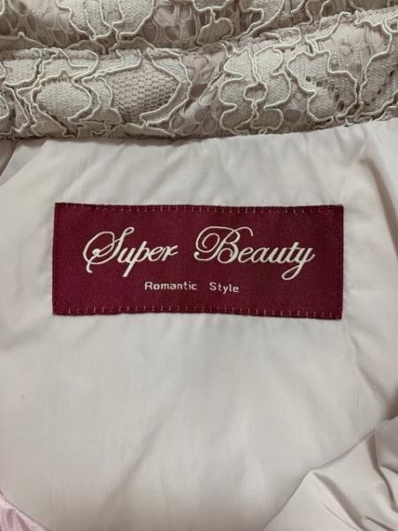 スーパービューティー コート サイズ40 M レディース美品  ベージュピンク