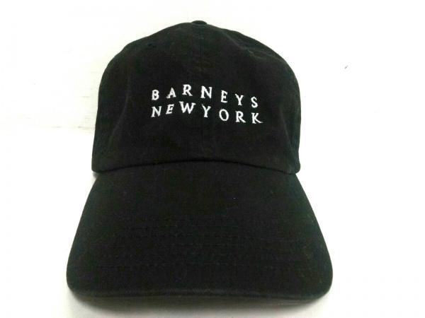 BARNEYSNEWYORK(バーニーズ) キャップ 黒×白 コットン