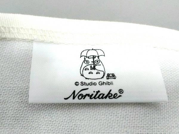 Noritake(ノリタケ) 小物新品同様  白×グリーン×レッド プレイスマット コットン
