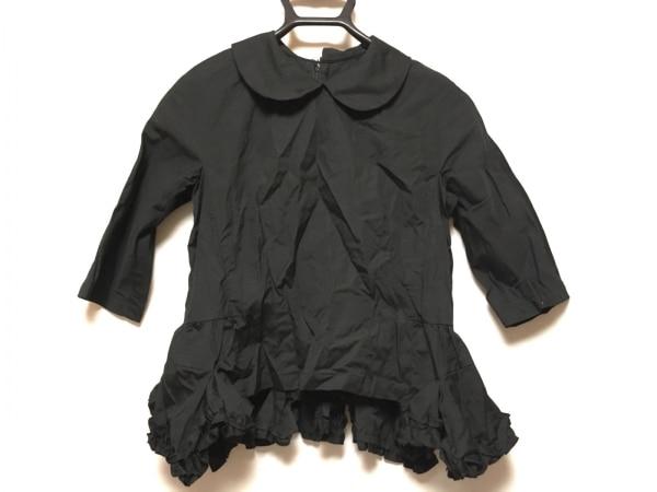 COMMEdesGARCONS(コムデギャルソン) 七分袖シャツブラウス サイズXS レディース 黒