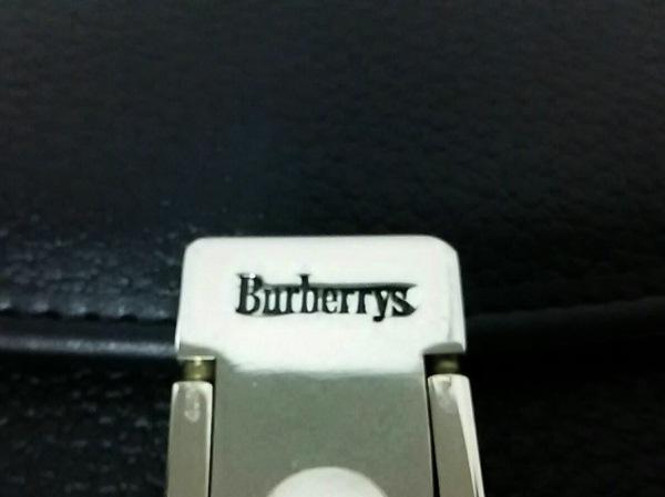 Burberry's(バーバリーズ) ハンドバッグ 黒 レザー